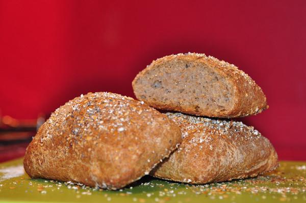 pan integral de avena
