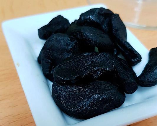 propiedades de ajo negro